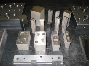 There are many different kinds of material we can EDM. STEEL, ALUMINUM, COPPER, BRASS, TITANIUM, CARBIDE, to name a few.